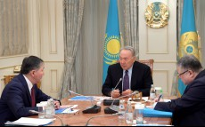 Meeting with Minister of Education and Science Yerlan Sagadiyev