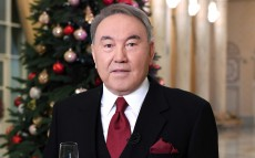 President Nursultan Nazarbayev wishes a Happy New Year