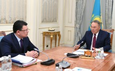 Meeting with Kanat Bozumbayev, Energy Minister