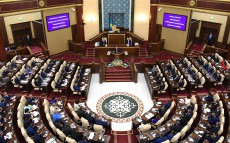 Participation in the opening of the 3rd session of Kazakhstan's Parliament
