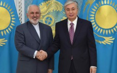 President of Kazakhstan received Foreign Minister of Iran Mohammad Javad Zarif