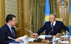 Meeting with Mayor of Pavlodar region Kanat Bozumbayev