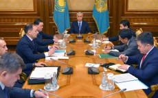 President Kassym-Jomart Tokayev held a meeting with the heads of a number of state bodies