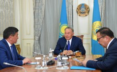 Meeting with Sooronbai Jeenbekov, Prime Minister of the Kyrgyz Republic